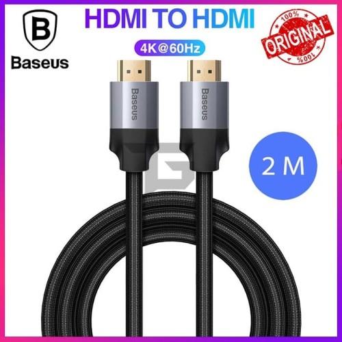 Foto Produk BASEUS Cable HDMI To HDMI 4K Kabel Full HD UHD Output Home Theather dari TopGear Superhero ID