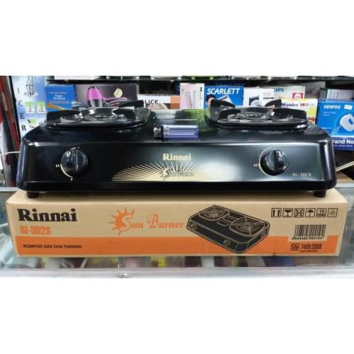 Foto Produk Rinnai Kompor Gas 2 Tungku RI302S murah.. dari AlatPekerjaan
