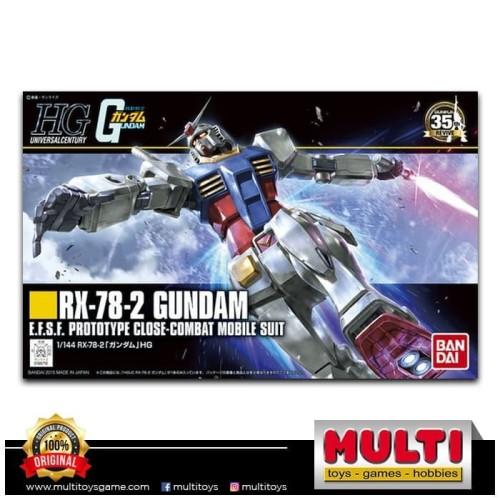 Foto Produk GUNDAM HGUC191 RX-78-2 96716 dari Multi Toys