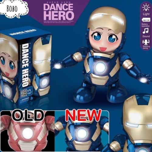 Foto Produk M153P Dancing Robot Pepper Pots / Pajangan / Smart Dance Hero Music dari bobo baby shop