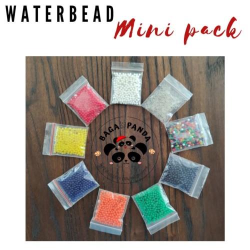 Foto Produk Water bead / Orbeez / Hidrogel / Crystal Soil Pack 5gr - Hitam dari Bagasi Panda