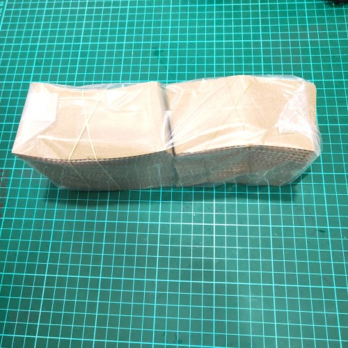 Foto Produk Paper Sleeve 8oz Brown @50pcs dari Abun Aneka Plastik