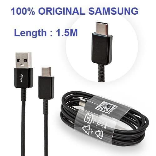 Foto Produk SAMSUNG Kabel Data Cable Type C 1.5M Note 8 Note 9 S9+ Original dari Original 100% Asli