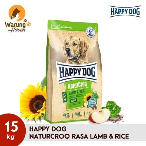 Foto Produk Happy Dog Naturcroq Adult Lamb & Rice 15 kg dari Warung Hewan