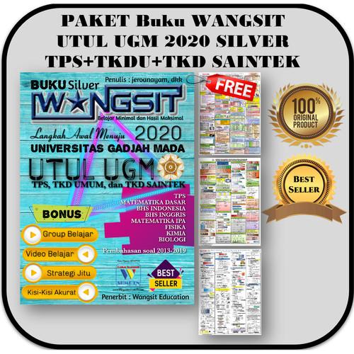 Foto Produk Paket Buku Wangsit UM UGM 2020 TPS + TKDU + TKD SAINTEK SILVER IPA dari Buku Wangsit SBMPTN