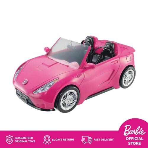 Foto Produk Barbie Glam Covertible Car Mobil Boneka Permainan Toy Anak Perempuan dari Barbie Flagship