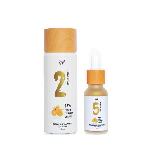 Foto Produk Bundling (Glow Skin Water For Toner, Gold Skin Serum) dari ZAM Cosmetics