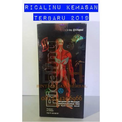 Foto Produk Ricalinu Herbal Original Halal, Hitam, Silver, Murah, dari Agen Resmi Kopi Jreng