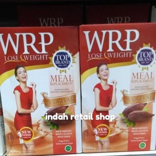 Foto Produk Wrp lose weight meal chocolate 12's dari indah retail shop