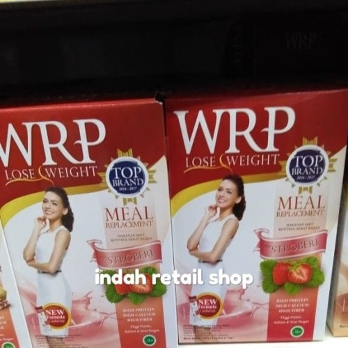 Foto Produk Wrp lose weight meal strawberry 200g dari indah retail shop