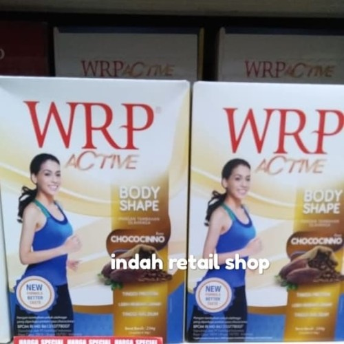 Foto Produk Wrp active body shape chococinno 234gr dari indah retail shop