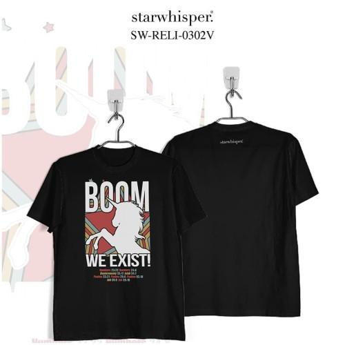 Foto Produk STARWHISPER RELIGIOUS T-Shirt - We Exist! - Ungu, S dari STAR WHISPER