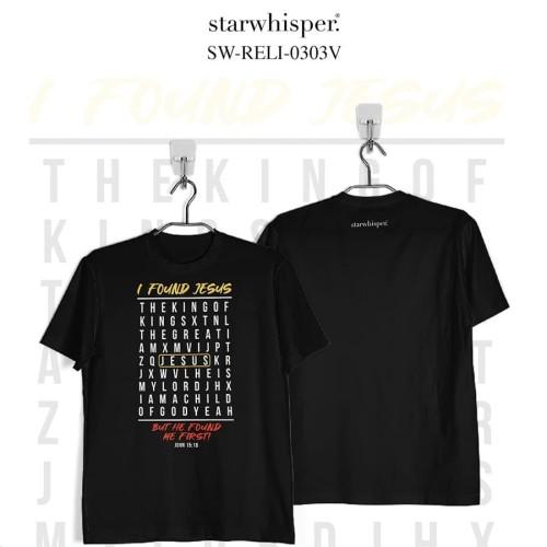 Foto Produk STARWHISPER RELIGIOUS T-Shirt - Found Jesus - Ungu, XS dari STAR WHISPER