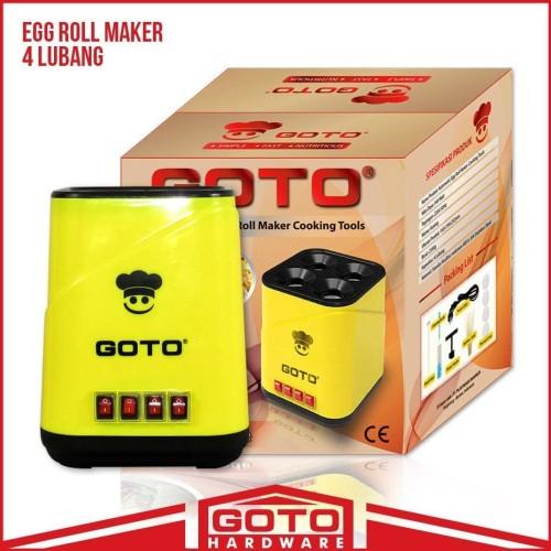 Foto Produk Mesin Sosis Telur Sostel Listrik Egg Roll Hotdog Sausage 4 Lubang ,.. dari AlatPekerjaan