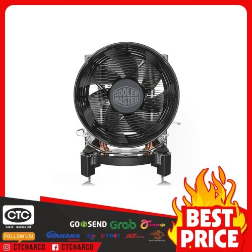 Foto Produk CPU Cooler Master Hyper T20 - Fan Processor Intel - AMD dari central technology compu