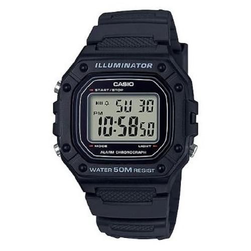 Foto Produk Jam Tangan Pria Casio Digital Dial Black Resin W-218H-1A dari Luxolite SG Timepieces