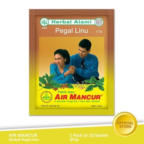 Foto Produk Air Mancur Serbuk Pegal Linu Sachet 10x7 gr - Pack dari Air Mancur Official Shop