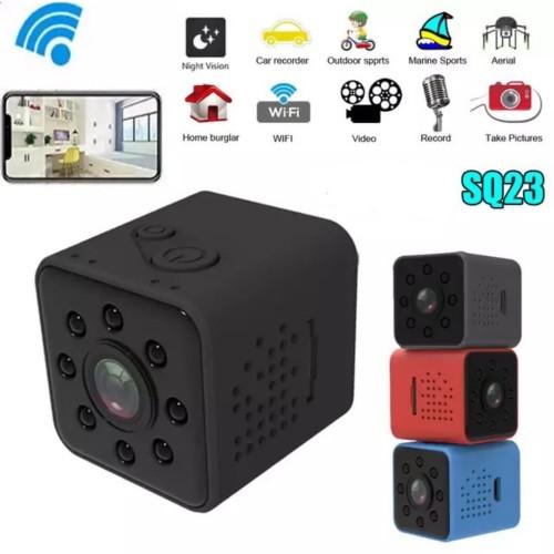 Foto Produk Spy Cam Kamera Pengintai SQ23 Mini Dv Wifi Action Camera Night Vision dari Type Shop