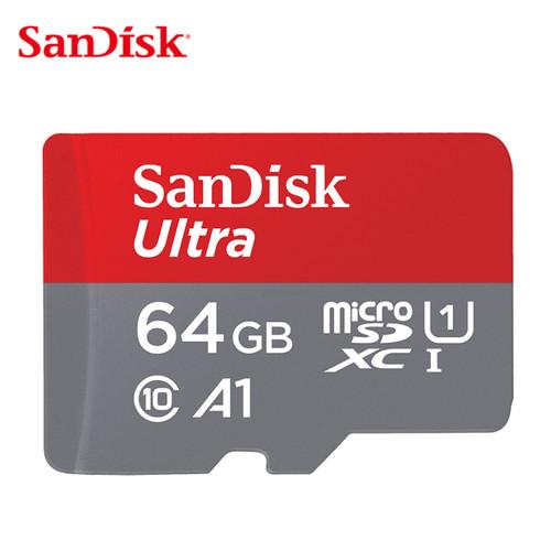Foto Produk SanDisk Ultra MicroSD 64GB A1 100MB/s UHS-I micro sd - No adapter dari CX Shop Official