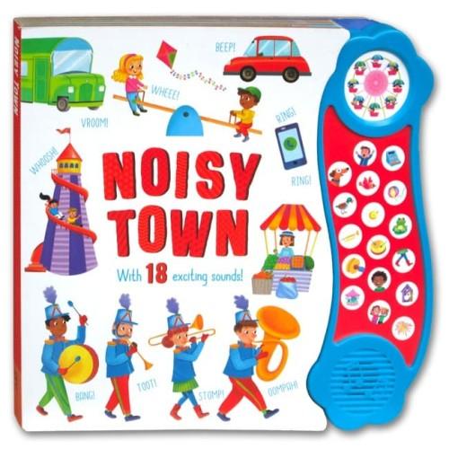Foto Produk Noisy Town Mega Sound Board Book with 18 Fantastic Sounds dari HappyBunnyBooks