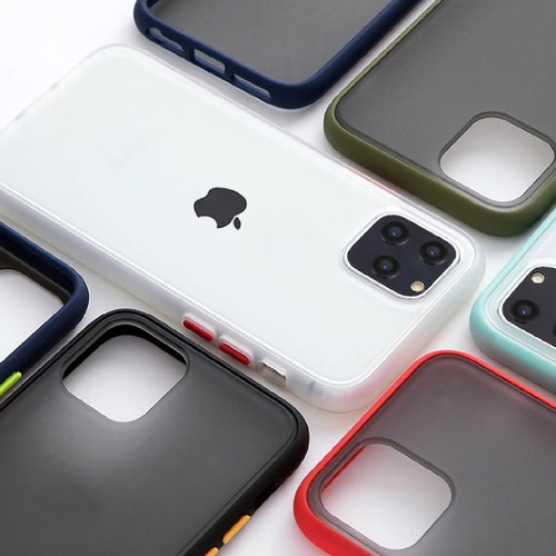 Foto Produk iPhone 11 6.1inchi Shockproof Transparent Matte Case dari azka sahira