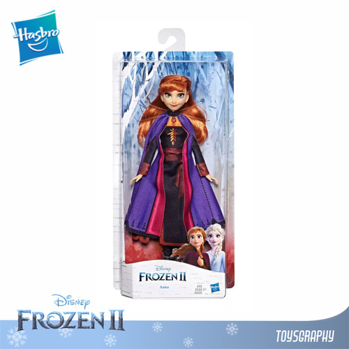 Foto Produk Disney Frozen 2 ANNA Fashion Doll with Long Red Hair & Purple Outfit dari Toysgraphy OFFICIAL
