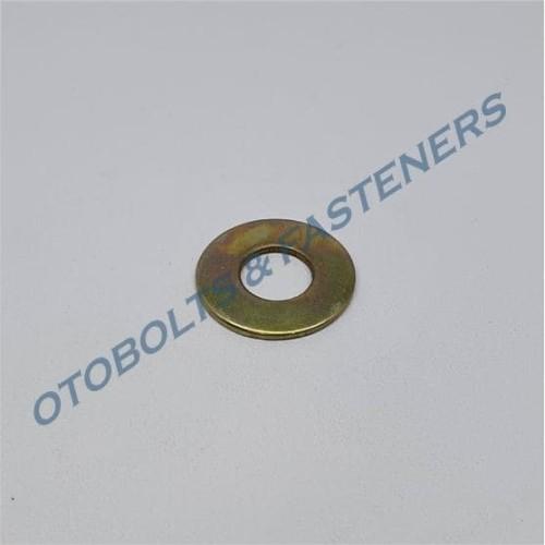 Foto Produk [PAKET 250PCS] Ring Plat M10 - Kuning dari Otobolts & Fasteners