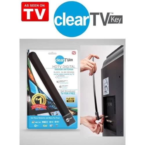 Foto Produk ANTENA CLEAR VISION TV KEY HDTV INDOOR INDOR DALAM DIGITAL JERNIH TV dari TGR Aksesoris