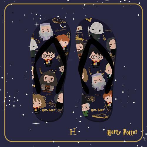 Foto Produk Flip Flop Sendal Sandal Warnerbros Harry Potter unisex Universal H - M dari The Feragatha