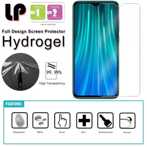 Foto Produk LP HD Hydrogel Screen Guard Xiaomi RedMi Note 8 Pro - Antigores Clear dari Logay Accessories