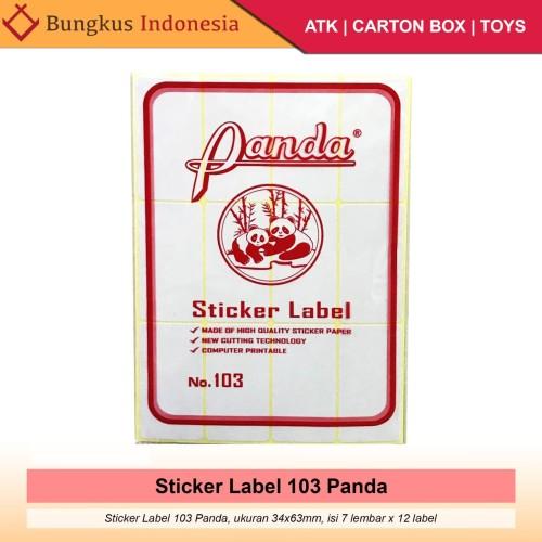 Foto Produk Label 103 Sticker Undangan 3,2x6,4cm dari Bungkus_indonesia
