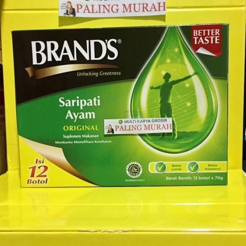 Foto Produk Brands saripati ayam Brand sari pati ayam ORIGINAL 70 gram dari MULTI KARYA GROSIR