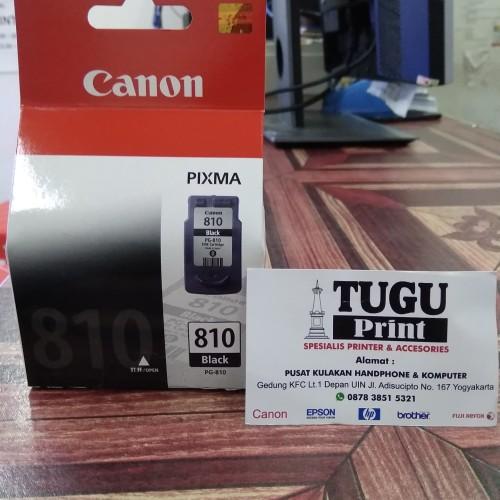 Foto Produk Catridge Canon 810 black dari TuguPrint