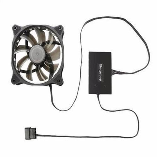 Foto Produk Segotep Fan 12Cm Rgb X 3Pcs 1 Paket Plus Wireless Remotex 1Pcs 15 Led dari Pakuan Strike