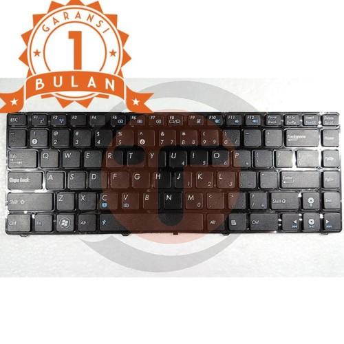 Foto Produk Keyboard Asus A42 A43 K42 N82 P43 Ul30 K43Sj X44H - Black dari Pakuan Strike