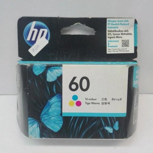 Foto Produk Tinta Hp 60 Black Dan Color Ink Cartridge Original dari Pakuan Strike