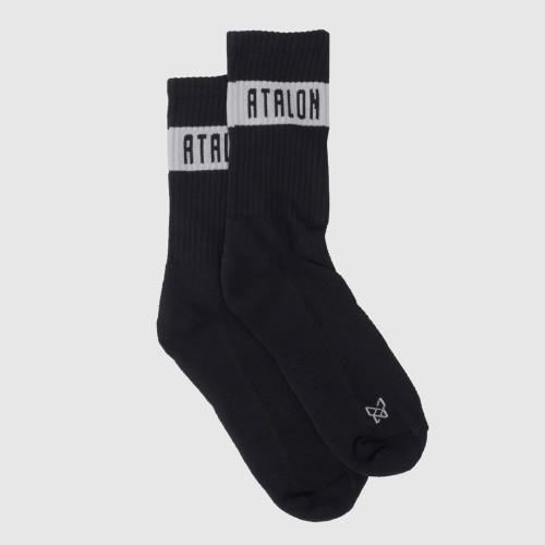 Foto Produk Kaos Kaki Sports Running / Gym - Block Training Socks - Putih dari Atalon Sportswear