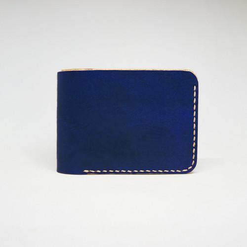 Foto Produk Rupa Bifold - Dompet Kulit Pria - Navy Blue dari Reka Leather