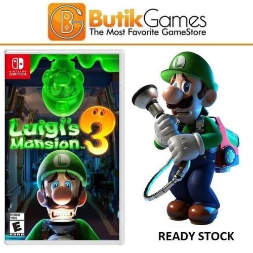 Foto Produk Luigis Luigi's Luigi Mansion 3 Switch Nintendo Switch dari Butikgames