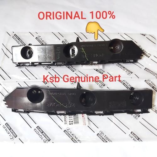 Foto Produk Support Bracket Breket Bumper Bemper Depan Kiri Agya Ayla Original dari KSB Genuine Parts