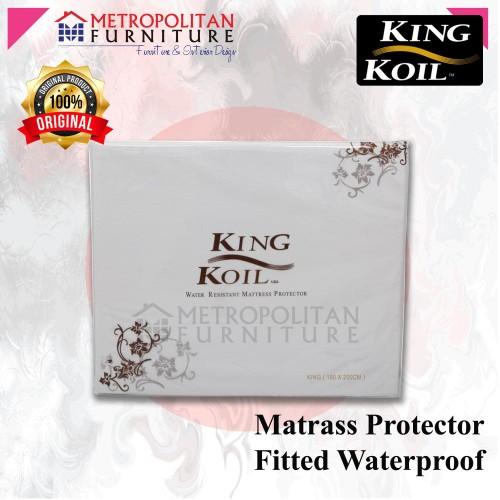 Foto Produk Matras / Mattress Protector KING KOIL Fitted Waterproof 180 x 200 dari Metropolitan Furnitures