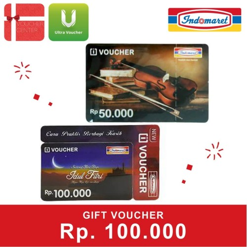 Foto Produk HEMAT Paket Belanja Indomart Rp 100.000 dari Ultra Voucher