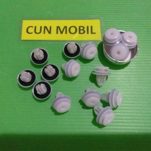 Foto Produk Klip Hardboard Innova warna putih ada ring dari Cun Mobil
