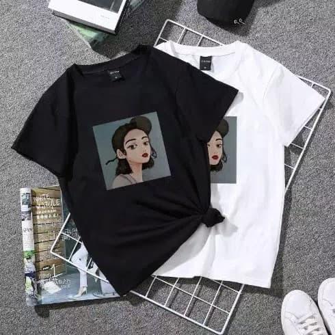 Jual Kaos Aesthetic Girl Wanita Baju Tumblr Tee T Shirt Tshirt Perempuan Jakarta Timur Msjm Store Tokopedia