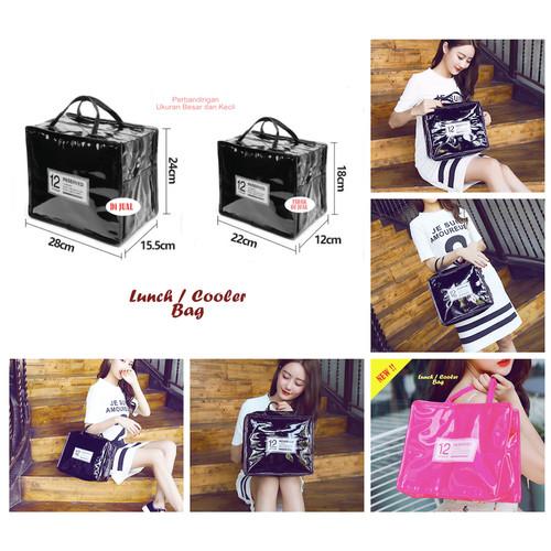 Foto Produk Korean Lunch / Cooler Bag (Tas Bekal bahan PU Leather) dari CERIA SMART