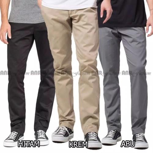 Foto Produk Celana Chino Pria Model Standart Reguler (Lurus) Murah Berkualitas dari Vnproject