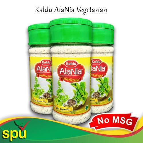 Foto Produk Kaldu AlaNia Vegetarian (Sayuran) 80gr - Kaldu Sehat Non MSG - MPASI dari SPU Official