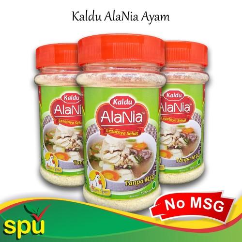 Foto Produk Kaldu AlaNia Ayam 150gr - Kaldu Sehat Non MSG - Kaldu MPASI dari SPU Official