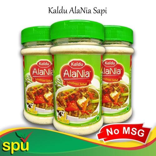 Foto Produk Kaldu AlaNia Sapi 150gr - Kaldu Sehat Non MSG - Kaldu MPASI dari SPU Official