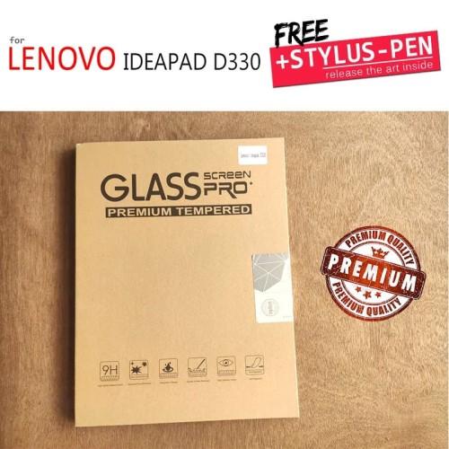 Foto Produk Lenovo Ideapad D330 - Premium Sapphire Tempered Glass - Clear dari Casebagus
